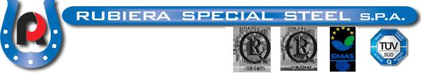 rubiera special steel logo
